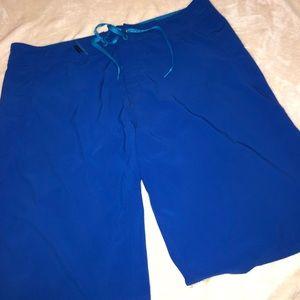 Oakley blue board shorts